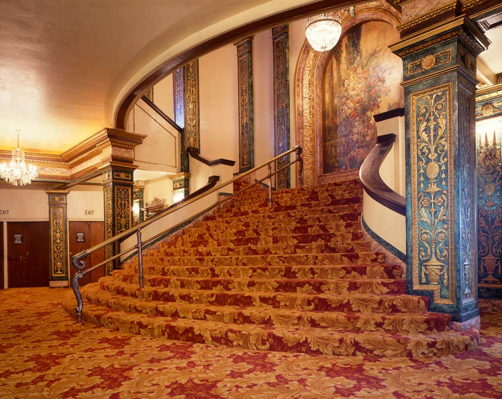 Grand Lake Theater Staircase